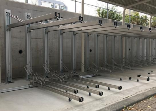 駐輪システム