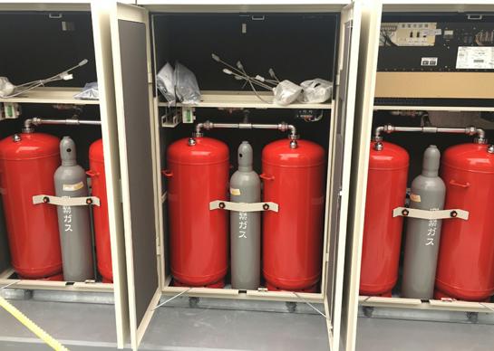 スプリネックス(パッケージ型自動消火設備)