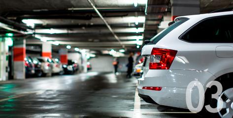 写真:03 駐車場設備